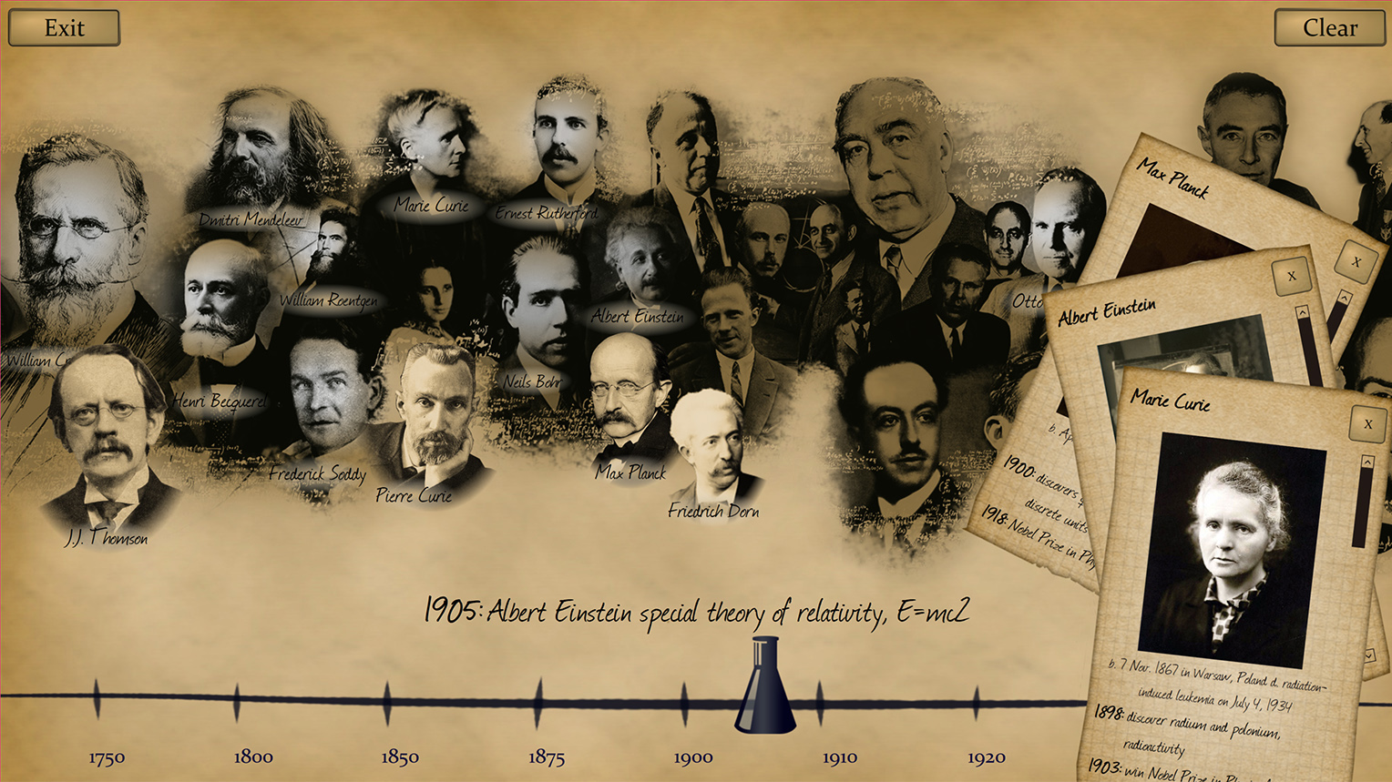 Pioneers of the Atom