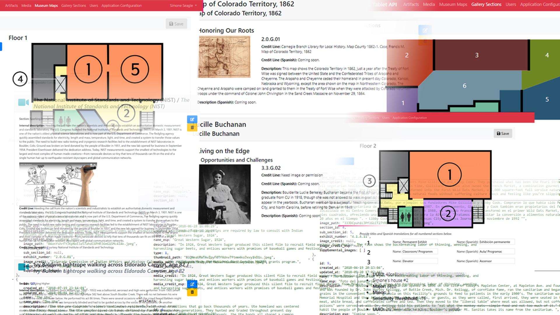Museum of Boulder Tablet API