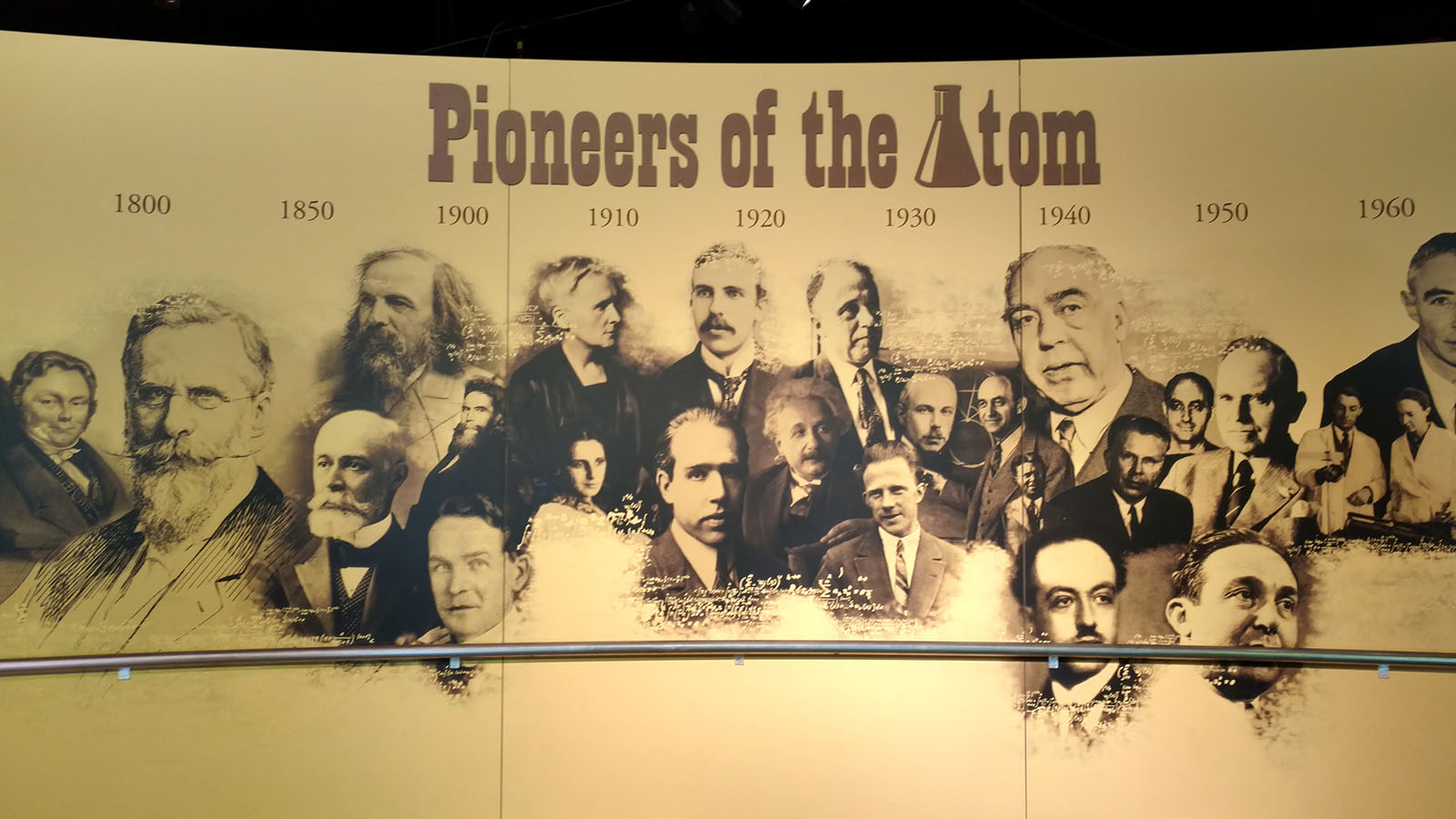 Pioneers of the Atom mural