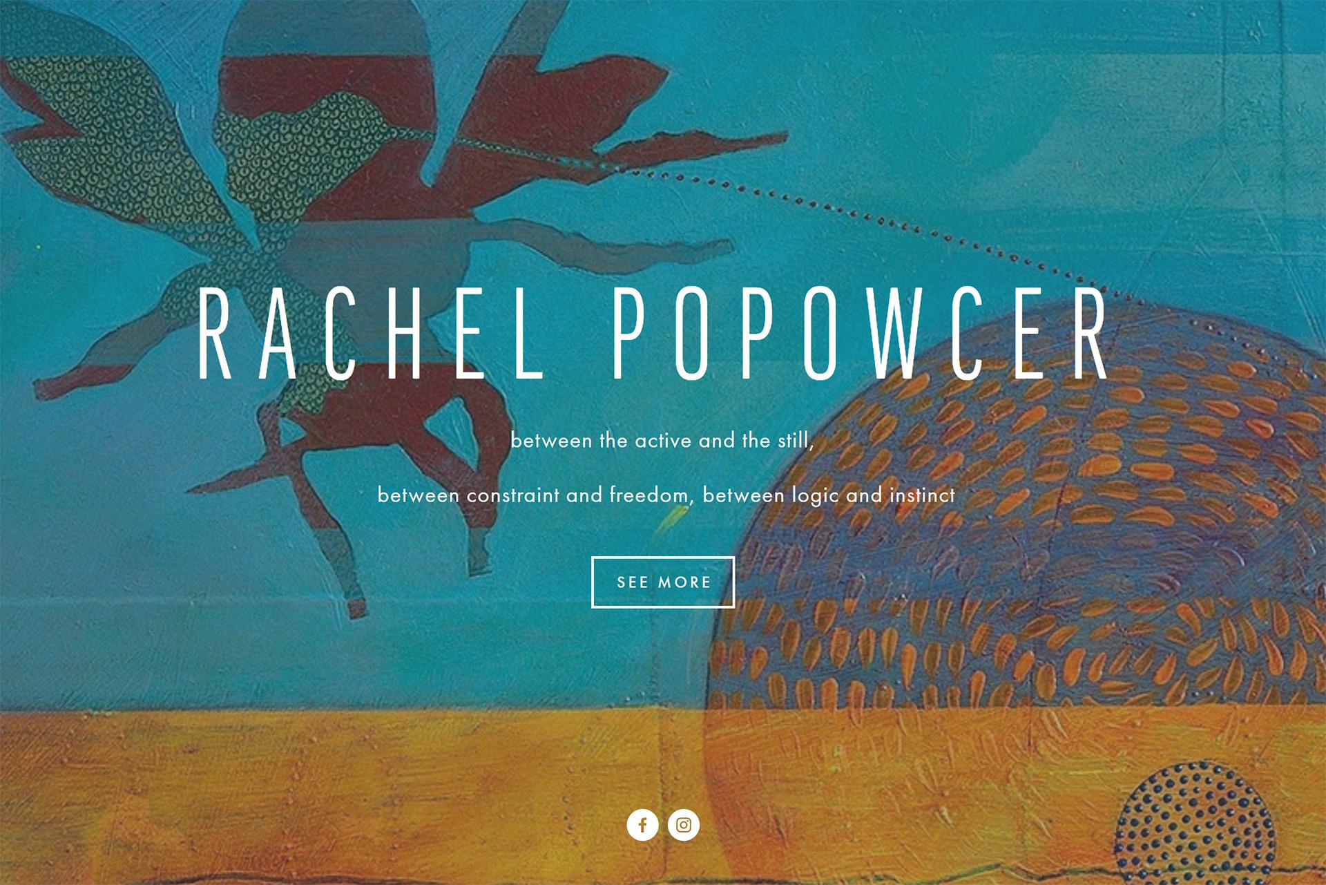 Rachel Popowcer Website