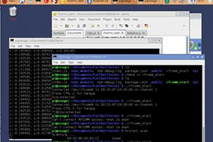 Reading bluetooth data using Node.js on a Raspberry Pi