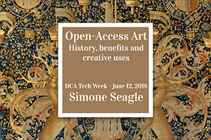 Open Access Art - Fun, Games, and a Talk