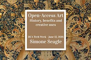 Open Access Art - Fun, Games, and a Talk