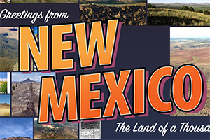 New Mexico - Land of a Thousand Volcanoes