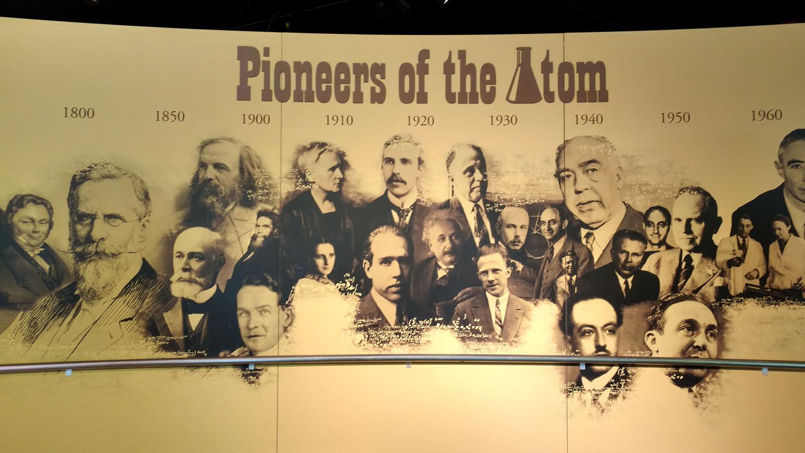 Pioneers of the Atom mural